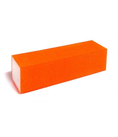 Баф для ногтей, яркий, оранжевый