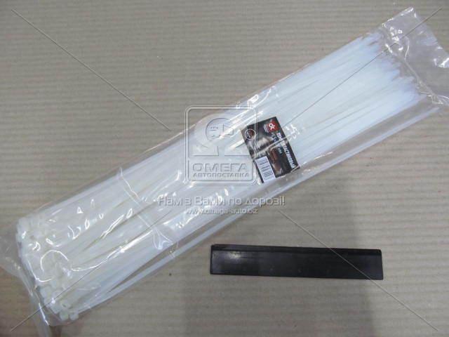 Хомут пластиковый 4.5х400мм. белый 100шт./уп.  (арт. DK22-4.5х400WT)