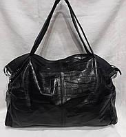 Стильная кожаная сумка . Большая кожаная сумка.