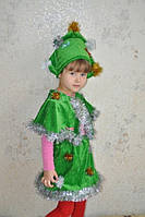 Карнавальный костюм Елка велюр, фото 1
