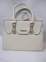 Карказная сумка с длинной ручкой(L&L)082 белый