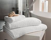 Полотенце махровое белое для отелей, гостиниц , дома. Доставка по всей Украине