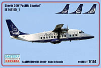 """Пассажирский самолет Short-360 """"Pacific Coastal"""""""