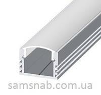 Профиль алюминиевый накладной светодиодный ЛП12 для подсветки LED (ТИС)