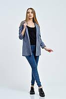 Пиджак женский, цвет: джинс, размер: 48
