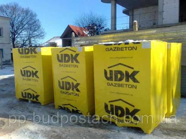Газобетон, газоблок UDK, ЮДК Slim-Block - ПП Будпостач: газобетон и газоблок по оптовой цене в Киеве