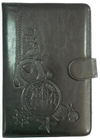 Кожаный чехол для планшета 7 дюймов Ocean черный