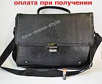 3c10a1d7c3e5 Мужская кожаная брендовая сумка через плечо для документов портфель А4