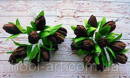 Підсніжник (пучок 10 шт)  № 21 коричневі