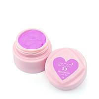 3D Modelling Gel GD COCO № 02 (лилово-розовый) - гель-пластилин, 8 г