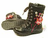 Clibee Зимние ботинки для девочек р.26-31., фото 2