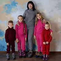 Вязанный спортивный костюм для детей.