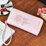 Женский кошелек с розой, фото 2