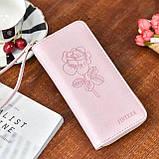 Женский кошелек с розой, фото 3