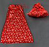 Новогодний мешок для подарков С 22430 (480) цвет - красный