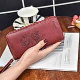 Женский кошелек с розой, фото 6
