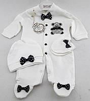 Человечки для новорожденных трикотажный 3, 6 месяцев Турция
