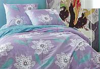 Двуспальный комплект постельного белья евро 200*220 хлопок  (8803) TM KRISPOL Украина