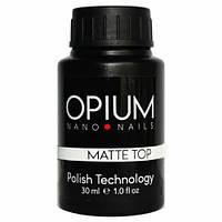 Фінішне покриття OPIUM Matte Top з липким шаром 30 мл