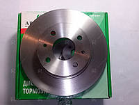 Тормозной диск передний ВАЗ 2108, 2109, 21099  1 к-т 2 шт. (пр-во Автореал, Россия)