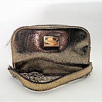 Модная женская сумочка золотого цвета LDJ-100686, фото 1