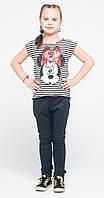 Джеггинсы для девочек классические джинс с матрицей