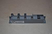 Блок электроподжигаBF80066-N80 для газовой плиты Gorenje 185871. На 6 выходов (свечи)