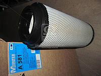Фильтр воздушный John Deere, Deutz Fahr, Compar. (производство M-Filter) (арт. A581)