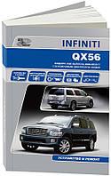 INFINITI  QX56  Модели JA 60 выпуска 2004-2010гг. Устройство и ремонт