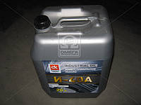 Масло индустриальное  И-40А (Канистра 20л) И-40А