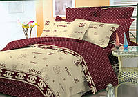 Двуспальный комплект постельного белья евро 200*220 хлопок  (8817) TM KRISPOL Украина