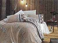 Двуспальный комплект постельного белья евро 200*220 хлопок  (8798) TM KRISPOL Украина
