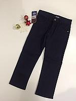 Синие брюки утеплённые р.5-8 лет