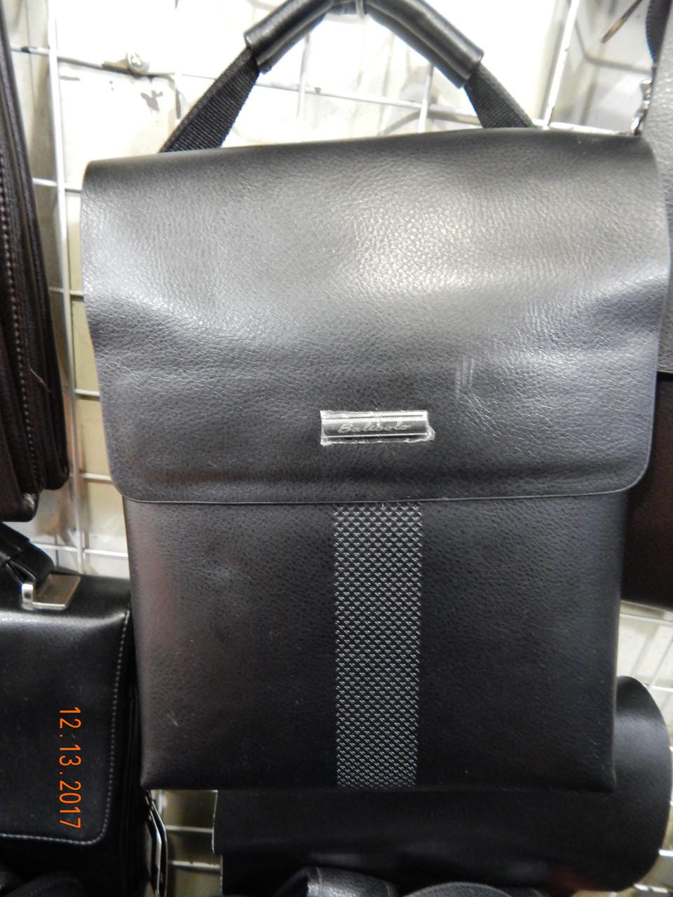 Мужская сумка через плечо от фирмы Balibolo кожаный клапан опт розница