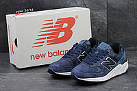 Мужские кроссовки  New Balance 999 нью беланс-темно-синие- замша,подошва пена,размеры:41-46 Англия