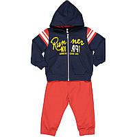 Спортивный костюм для мальчиков 9-36 месяцев, хлопковый, Idexe' 969.39078.00