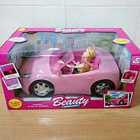 Машина Кабриолет с куклой Барби