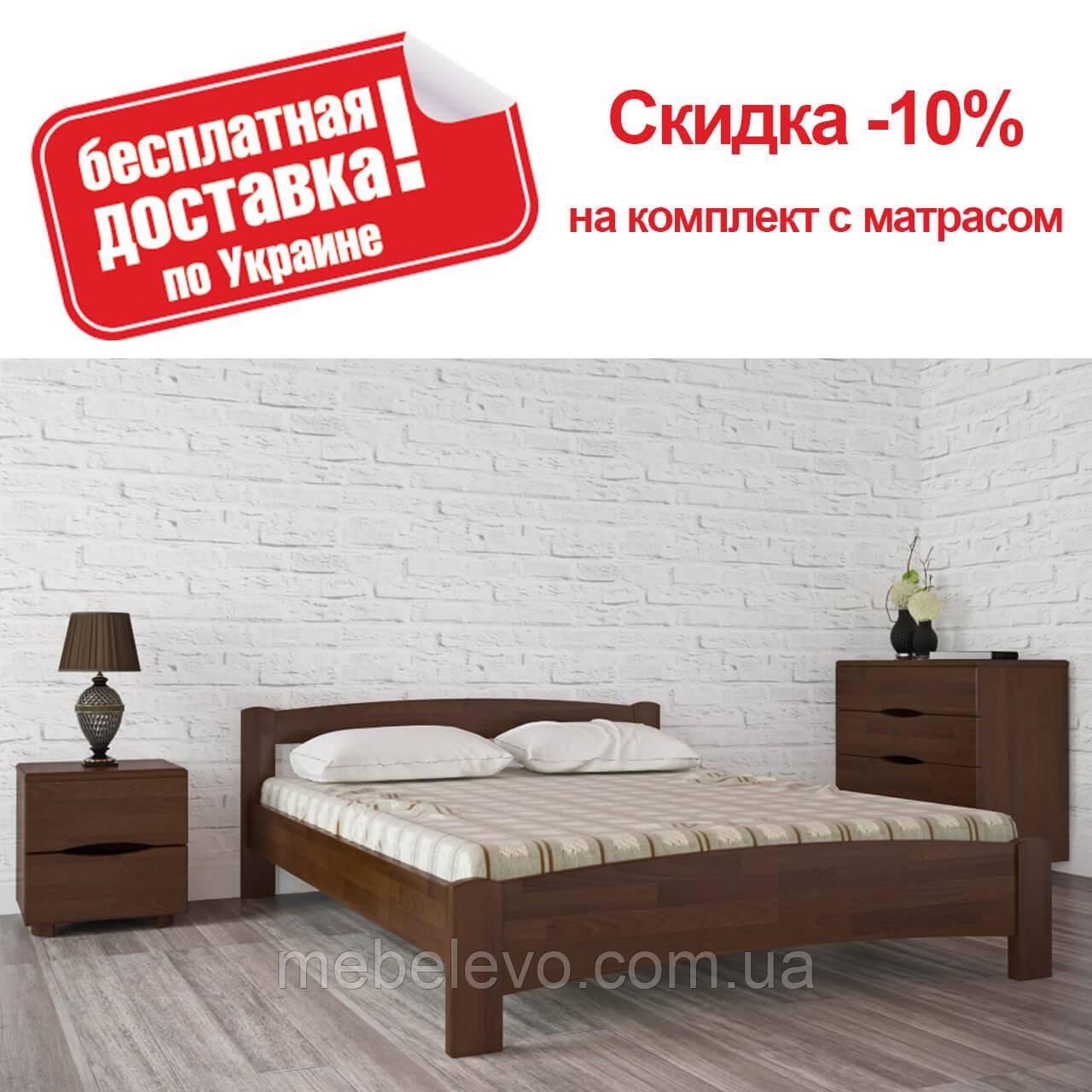 Кровать двуспальная Милана 180 Олимп