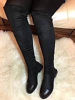 Женские ботфорты,женские сапоги ботфорты,женские ботфорты замшевые