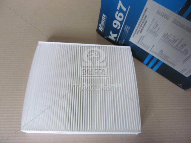 Фильтр салона Ford Focus II, Volvo C30, Renault (производство M-Filter) (арт. K967), rqz1