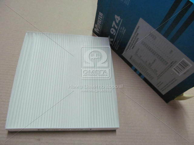 Фильтр салона MAZDA 2 MAZDA 6, CX-7 (производство M-Filter) (арт. K974), AAHZX