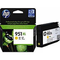 Картридж струйный HP для Officejet Pro 8100 N811a HP 951XL Yellow  повышенной емкости