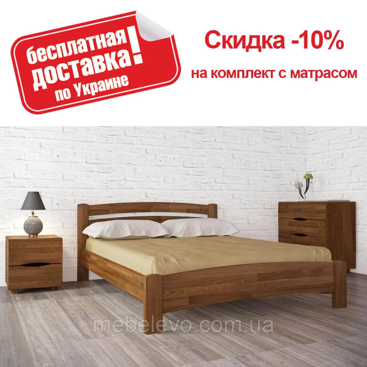 Кровать двуспальная Милана люкс 200 Олимп