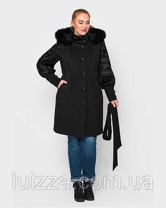 Зимнее женское пальто 42-52 р, фото 2