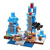 """Конструктор для детей Bela 10621 (аналог Лего) """"Ледяные шипы"""" (460 деталей)"""