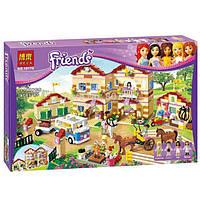 """Конструктор Friends Bela 10170 """"Школа верховой езды"""" (аналог Lego 3185), 1118 деталей"""