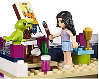 """Игрушка конструктор для девочек Bela Friends 10541 """"Дом Эммы"""", 731 дет."""