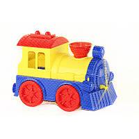 Детский Поезд  в сетке  ЮНИКА