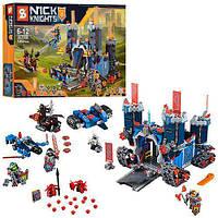 """Игрушка детский конструктор SY568 Nexo Knights (аналог Лего 70317) """"Мобильная крепость Фортрекс"""", (1205 дет.)"""