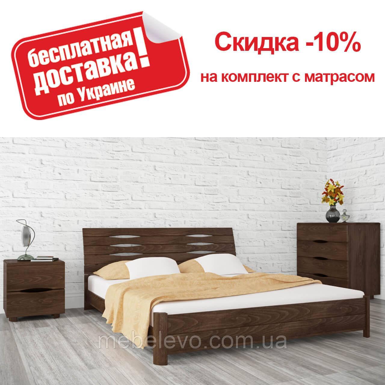 Кровать двуспальная Марита S 180 Олимп